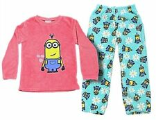 Despicable Me Minion Girls Fleece Pyjamas, Sizes From 4-7 Years