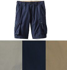 Tommy hilfiger boys cargo shorts solid cotton youth size 6, 8, 10, 12, 18 NEW