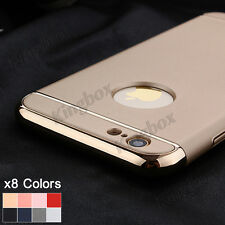 For iPhone 5S 6 6S 7 Plus Ultra-thin Slim Armor Shockproof Hard Back Case Cover