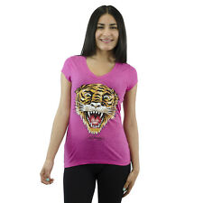 Ed Hardy Tiger Pink Girls T-shirt NEW Sizes S-L