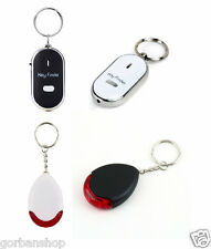 Whistle Lost Key Ring Finder Flashing Beeping Locator Remote Sonic Keychain