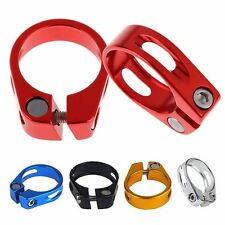 31.8mm/34.9mm Quick Release Mountain Road Bike Bicycle Seatpost Seat Post Clamp