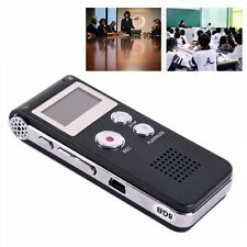 Digital Rechargeable Dictaphone Telephone MP3 Player Audio Voice Recorder H63