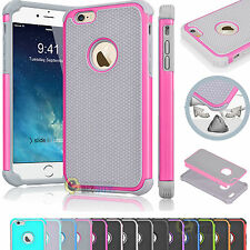 """For Apple iPhone 6 4.7"""" / 6s Plus 5.5"""" Hybrid Rugged Protective Hard Case Cover"""