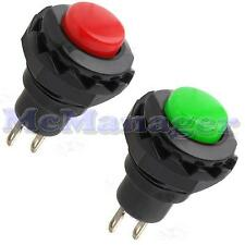 Off-On SPST Momentary Push Button Horn Switch Car Boat Dashboard Light