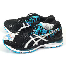 Asics Gel-Nimbus 18-SW Cushioning Running Shoes Black/White/Blue TJG741-9001