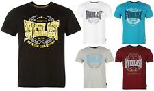 Everlast Printed TShirt Mens Short Sleeves Boxing Training ~All sizes S - XXXXL