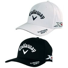 Callaway Golf Men's Authentic Tour Pro FlexFit Chrome Soft Cap - (Perry) - OSFM