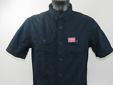 Superdry SHIRT WASHBASKET SOLID Nautical Navy Short sleeve + new + Size S & M