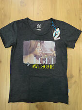 Boom Bap T-Shirt -DRUNK - MIXED ANTHRACITE - round Neck + new + various: Sizes