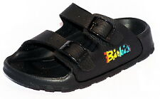 Birki Sandals by Birkenstock for Kids Boys Haiti Basic Scwarz Narrow