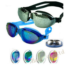 Men/Women Professional Waterproof Anti-Fog UV Protect Swimming Goggles