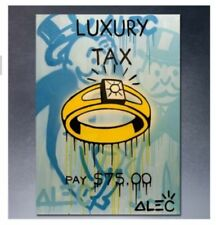 Alec Monopoly-Diamond Ring Handcraft Canvas Oil Painting Art for Living Room 36'