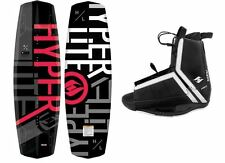 New Hyperlite Destroyer 2016 Wakeboard Package With Agent Bindings fits 7-14