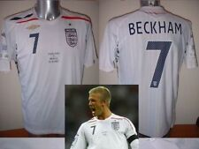 England BNWOT DAVID BECKHAM Brazil Wembley M L XL XXL Jersey Football Soccer Top