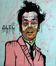 Alec Monopoly Modern Handcraft Portrait Oil Painting on Canvas Art 24x32inch
