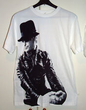 PAUL WELLER - LEATHER PHOTO - OFFICIAL TOUR T-SHIRT 2008 Size Small Medium New