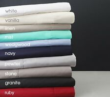 "1000TC 100% Pure Egyptian Cotton Super Soft Solid 4PC Sheet Set 30""Deep CA Size"