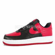 Nike Air Force 1 [820266-009] NSW Casual Black/Red-White