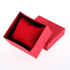 1 Set Present Gift Boxes Case For Bangle Jewelry Ring Earrings Wrist Watch Box