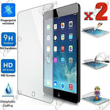 2X Tempered Glass Screen Protector For iPad 4 3 2 1 Air Mini Full Retail Package