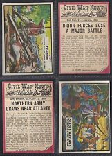 A&BC - CIVIL WAR NEWS 1965 (TITLE 44mm) (NUMBERS 031-060) SELECT YOUR CARD