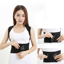 Adjustable Posture Back Support Corrector Brace Lumbar Brace Shoulder Band Belt