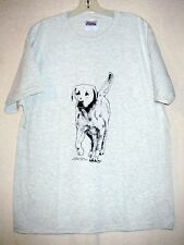 YELLOW LABRADOR RETRIEVER  Coming&Going T-shirt / Adult Unisex Sizes / 2 colors