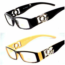 DG Glasses Sunglasses Fashion Eyewear Frame Rx Ready Clear Lens UV400 Protection