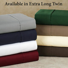 """Real 400TC 100%Egyptian Cotton Ultra Soft Solid 1PC Fitted Sheet 30""""Deep CA Size"""