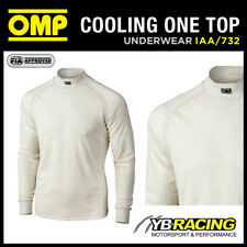 SALE! IAA/732 OMP RACING LONG SLEEVED CREW NECK FIREPROOF TOP NOMEX SOFIDRY