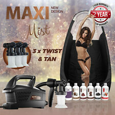 Maximist Evolution TNT - Complete Spray Tan kit Includes Tent & Sunless Solution