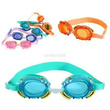 Unisex Kids Waterproof Adjustable Anti-fog UV Protection Swimming Goggle Glasses