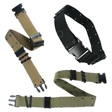 Cool Unisex Tactical Belt Canvas Outdoor Rescue Riggers Rappelling Downhill Belt