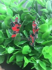 Lot mixed Cartoon Deadpool Metal Charm Pendants Jewelry Making Party Gift  Y-04