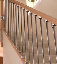 AXXYS Pine & Brushed Nickel Staircase Refurbishment Set - NOT CHROME