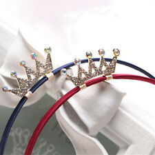 Princess Baby Girls Headbands Tiaras Crowns Crystal Hair Hoop Hair Accessories