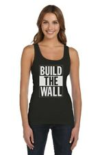 Build The Wall Republican Party Election Campaign Women Tank Top Political