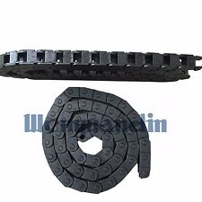 1M Cable Drag Chain Wire Carrier Serial No.18 18*50mm R28/R38/R48 1000mm