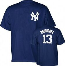New York Yankees Alex Rodriguez Navy Blue Youth Name and Number T-Shirt