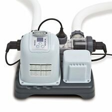 New Intex Krystal Clear Saltwater Above Ground Pool Cleaning System With E.C.O