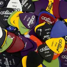 0.58 0.71 0.81 0.96 1.20 1.50mm Acoustic Electronic Guitar Bass Picks Plectrums
