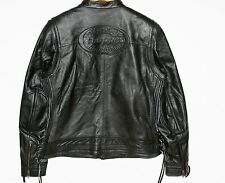 Harley-Davidson Black Leather Motorcycle Jacket Cambria Women's