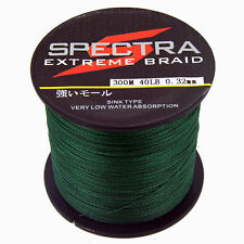 Moss Green 300M 8-100LB Super Strong Spectra Dyneema Braided Sea Fishing Line