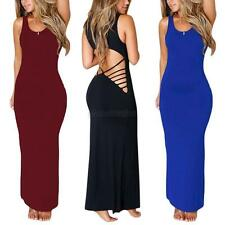 Sexy Women Bodycon Bandage Backless Maxi Cocktail Evening Party Gown Party Dress