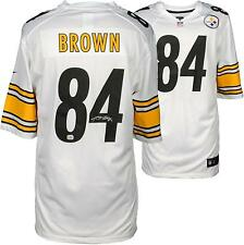 Antonio Brown Pittsburgh Steelers Autographed Nike White Limited Jersey