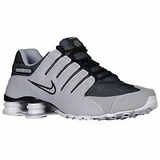 NIKE SHOX NZ GREY BLACK WOLF GREY WHITE MENS RUNNING SHOES **FREE POST AUSTRALIA