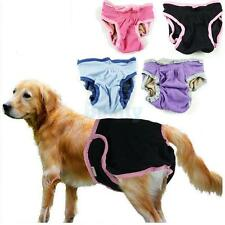Female Dog Sanitary Diapers Small Large Dog Protector Pant Underwear XS-XL 5Size