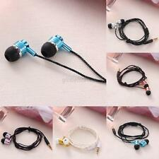 Universal 3.5mm Stereo Headset In-ear Earphone for Cell Phone iPhone Samsung Hot