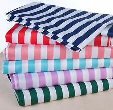 Luxury 600TC Cotton Rich Cabana Kids Stripe Sheet Set